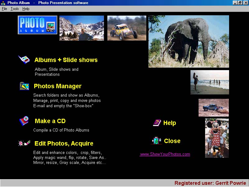 photo album, photoalbum, photo presentation, slide shows, photo CD maker,slide s